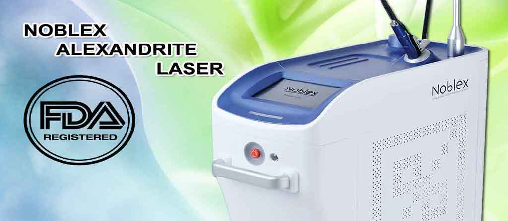 فروش دستگاه لیزر الکساندرایت نابلکس Alexandrite Laser Noblex