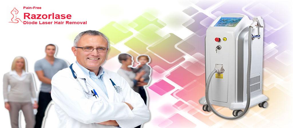 فروش دستگاه لیزر الکس دایود رازورلیز Razorlase Diode Laser